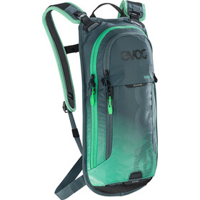 EVOC Stage Sac à dos Technical Performance 3l + 2l réservoir d'hydratation, slate-neon green